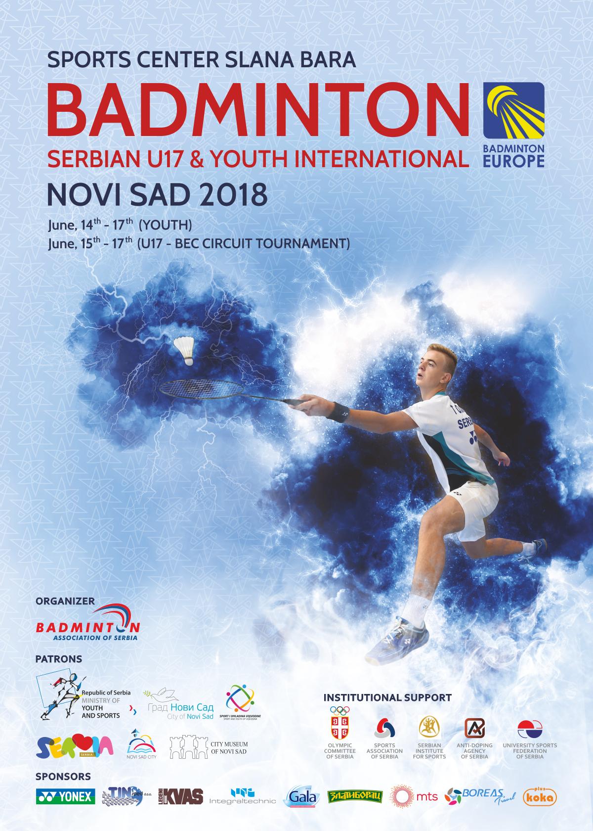 BadmintonEurope com