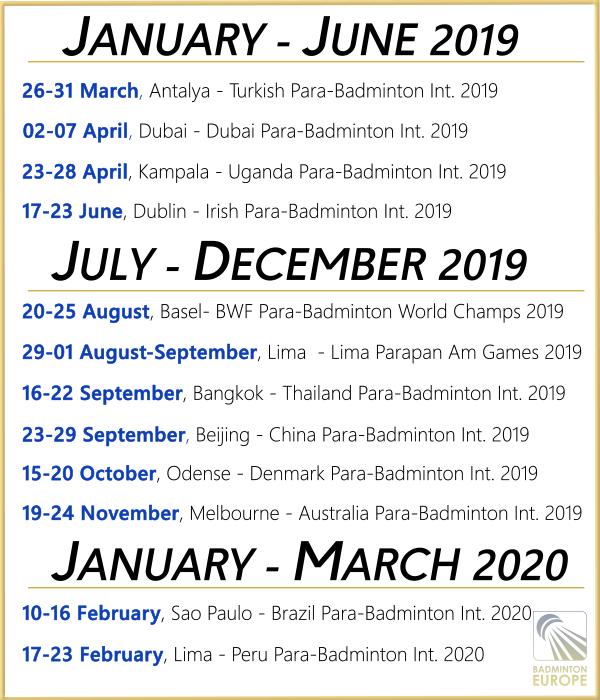 BadmintonEurope com - Towards Tokyo 2020